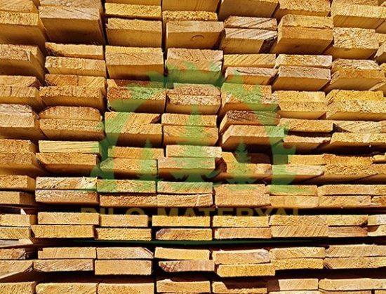 Доска обрезная 25х100х6000 из сосны