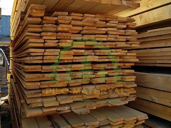 Доска обрезная 25х150х6000 из сосны