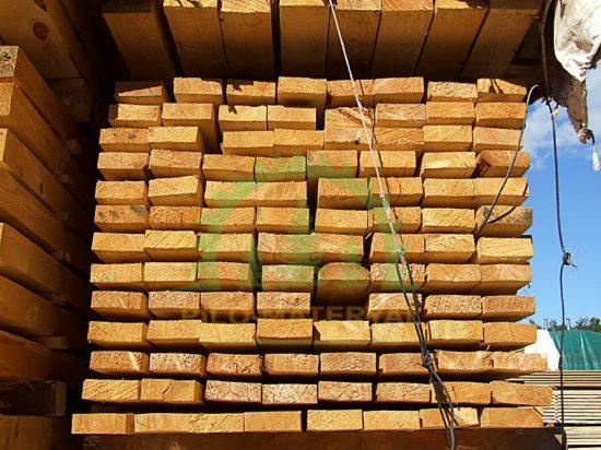 Доска обрезная 40х100х6000 из сосны